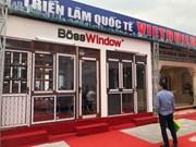2018越南河内市国际建材展吸引500家企业参展