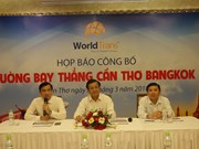越南芹苴市至泰国首都曼谷直达航线将于今年6月开通