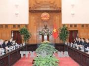 政府总理阮春福会见白俄罗斯副总理谢马什科