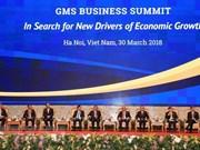 阮春富总理主持GMS商务峰会的政策对话全体会议