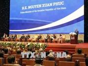 政府总理阮春福共同主持召开大湄公河次区域经济高峰论坛