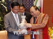 GMS6和CLV10会议: 阮春福会见缅甸副总统亨利