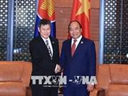 GMS6 和CLV10会议: 政府总理阮春福会见东盟秘书长