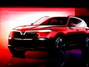 VinFast的两款Sedan和SUV车型获得外观设计专利证书