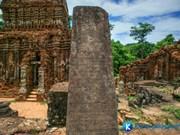 美山世界文化遗产的梵文文碑将被翻译成越南语和英语