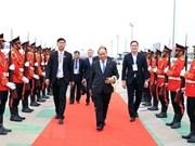 越南政府总理阮春福出席湄公河委员会第三届峰会之旅圆满结束