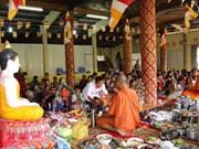 越南祖国阵线中央委员会主席向高棉族同胞致新年贺信