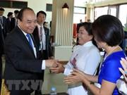 越南政府总理阮春福与越裔柬埔寨人代表会面