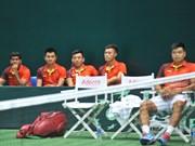 越南队取得戴维斯杯二连胜