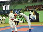 2018年第一届越南南部空手道锦标赛在后江省精彩开幕