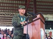 菲律宾总统任命新的武装部队总参谋长