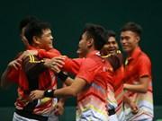 越南队获得参加2019年戴维斯杯亚大区第二层级的入场券