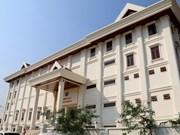 越南国防部向老挝人民军移交老挝人民军队文艺团总部