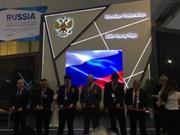俄罗斯国家馆展览会在河内国际展览中心正式开幕