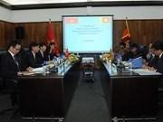 越南与斯里兰卡第三次政治磋商在科伦坡举行