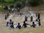 奠边省佬族泼水节被列入国家级非物质文化遗产名录
