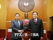 深化越南祖国阵线与老挝建国阵线的关系