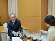 日本会计检查院院长:推动越日两国审计合作关系迈上新高度