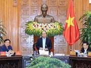 越南政府领导与最高人民法院举行工作会议