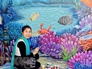越南画家荣获国际设计大奖赛银牌