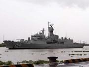 澳大利亚海军对胡志明市进行访问