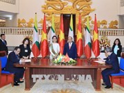越缅发表联合声明