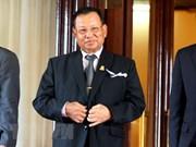 柬埔寨新一届参议院召开首次会议 赛冲再次当选为参议院议长