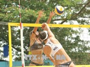 2018年亚洲女子沙滩排球比赛:哈萨克斯坦女排夺冠