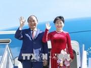 越南政府总理阮春福启程对新加坡进行正式访问并出席第32届东盟峰会