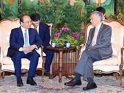 越南与新加坡发表联合声明