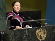 联合国强化和平与发展的有机结合