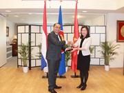 越南驻荷兰大使吴氏和担任驻海牙东盟委员会轮值主席一职