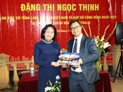 国家副主席邓氏玉盛视察越南驻悉尼总领事馆
