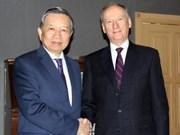 越南公安部部长苏林率团出席第九届安全事务高级代表国际会议