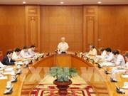 越共中央总书记阮富仲:确保反腐败工作的公平客观