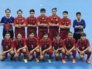2018年亚洲女子五人制足球锦标赛:越南队击败中华台北队取得开门红