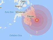 菲律宾发生6.1级地震 尚无伤亡
