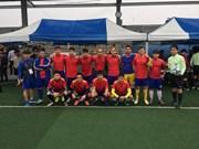 旅居韩国越南人协会第一次体育交流活动开幕