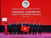 第十九届亚洲物理奥林匹克竞赛在河内开幕