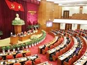 越共十二届中央委员会第七次全体会议第一天新闻公报