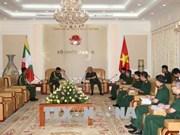 越南重视与缅甸的防务合作关系