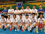 2018年亚洲女子五人制足球锦标赛:越南队晋级四分之一决赛