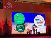 Viettel在缅甸新品牌Mytel即将开业