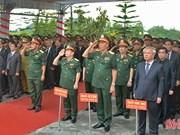 河静省为在老挝牺牲的越南志愿军遗骨举行追悼会