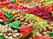 今年前4月蔬果出口额同比增长近30%