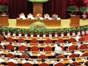 越共第十二届中央委员会第七次全体会议第五天新闻公报