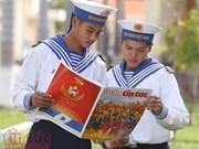 越南国家主席致信祝贺越通社信息报创刊35周年