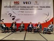 越南与中东地区加强贸易投资合作