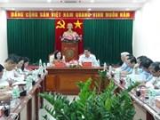 越共中央政治局检查组视察越共十二届四中全会决议的落实情况