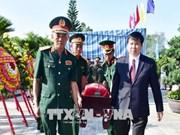 承天顺化省举行烈士遗骸追悼会和安葬仪式